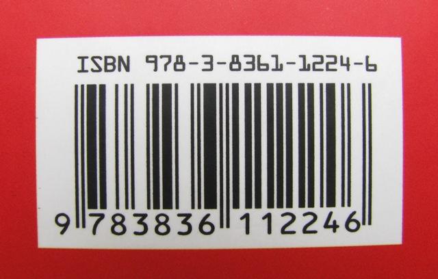 EAN-Nummern auf rotem Hintergrund